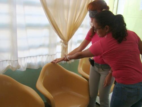 Ubicación de sillas