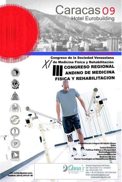 Congreso Andino de la Sociedad Venezolana de Medicina Fisica y Rehabilitacion