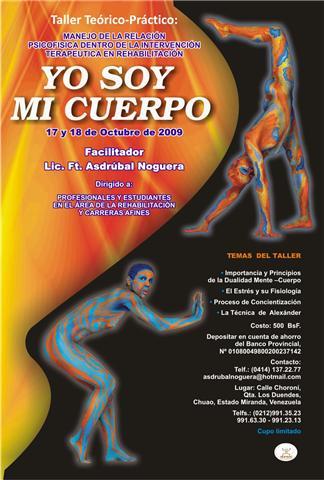 afiche del taller octubre 2009